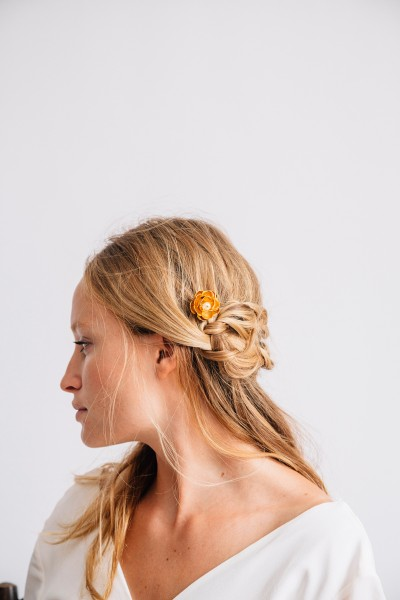 Riviera and Gold Flower Slide