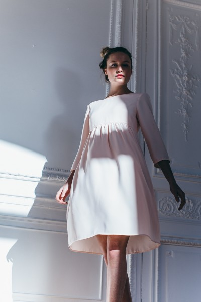 PALE PINK CHARLIE DRESS