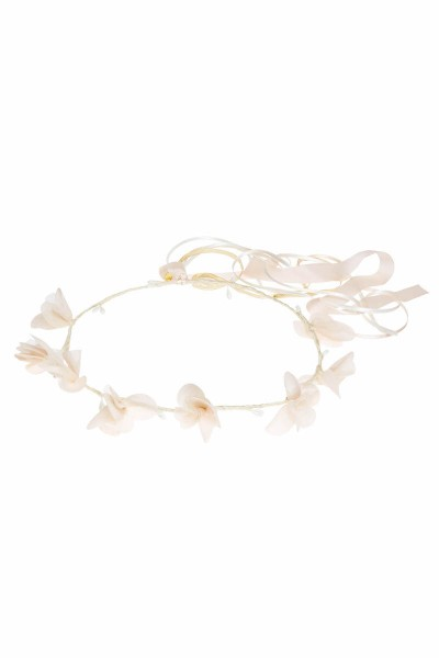 COURONNE GRACE ROSE PALE