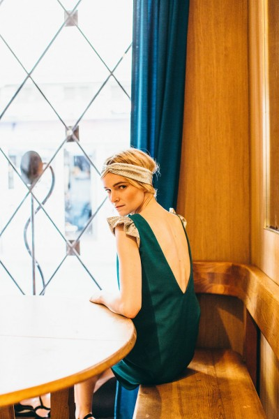 EMERALD ESTRELLA DRESS