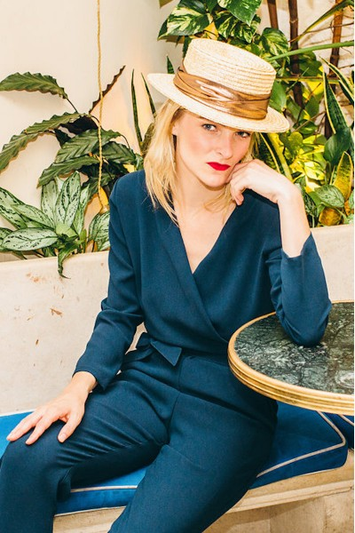 DARK BLUE BIANCA JUMPSUIT