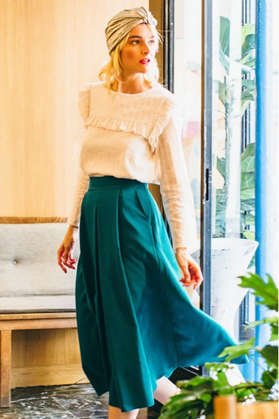 EMERALD GEORGIA SKIRT