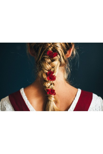 BORDEAUX GRACE HAIR PINS