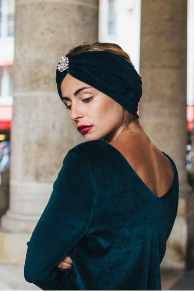 ENGLISH GREEN DOLCE TURBAN DOLCE