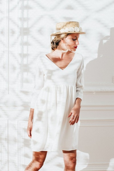 IVORY ANASTASIA DRESS