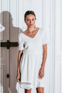 ROBE AMOUR IVOIRE