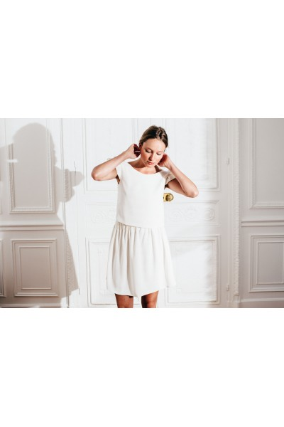 IVORY AMOUR SKIRT