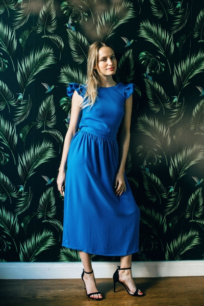 COBALT ROMA DRESS