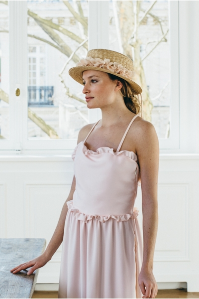 ROBE BALLERINA ROSE PALE