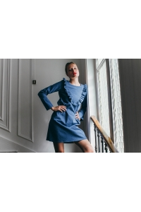 DENIM POESIE DRESS