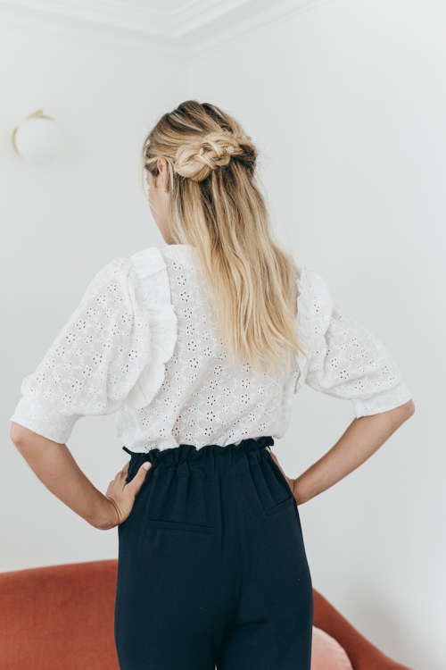 BLOUSE ALMA BRODERIE ANGLAISE