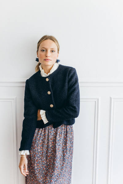 CHLOE NAVY JACKET