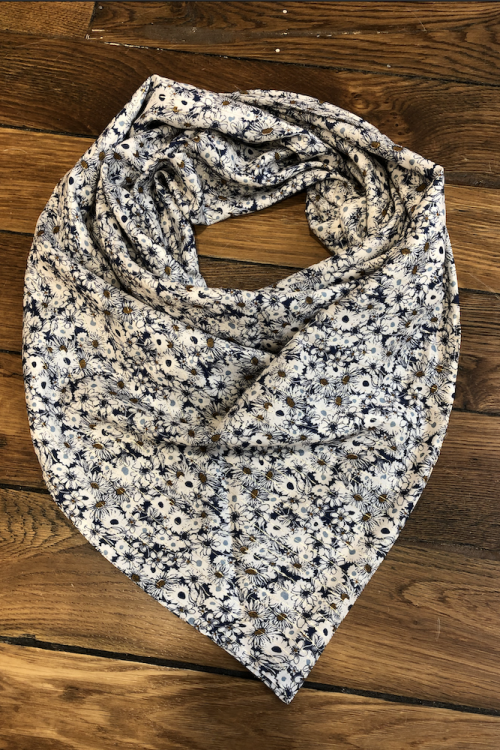 GRAND FOULARD SOLIDAIRE AMELIE