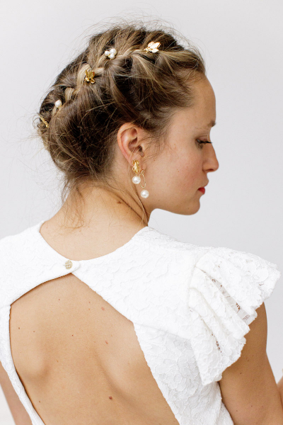 GOLD RIVIERA HAIR PINS