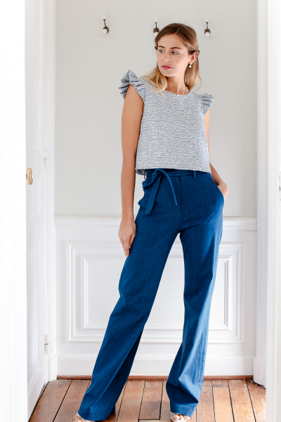 DENIM ANNA PANTS